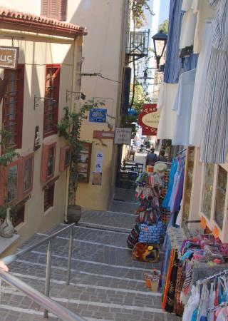 Casa Latina : Улицы старой Ханьи - со стороны ул.Theotokopoulou