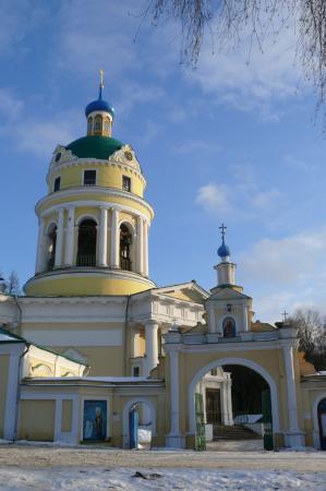 Grebnevo, Russia: Зимний храм во имя святителя Николая, Мир Ликийских Чудотворца