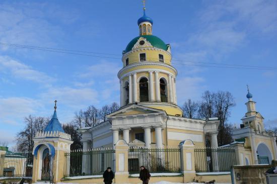 Grebnevo, Rússia: Зимний храм во имя святителя Николая, Мир Ликийских Чудотворца