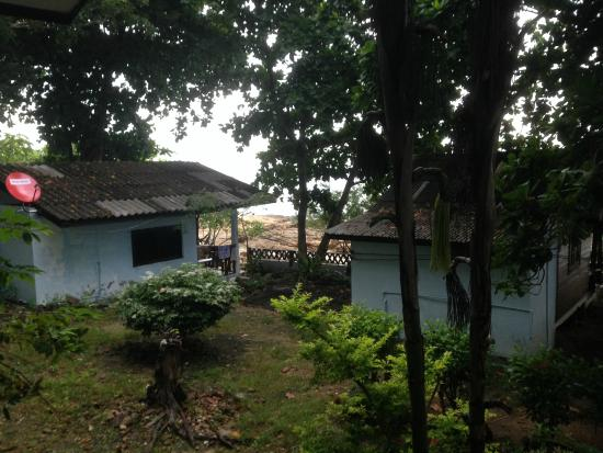 Ao Pudsa Bungalows : View from bungalow 1