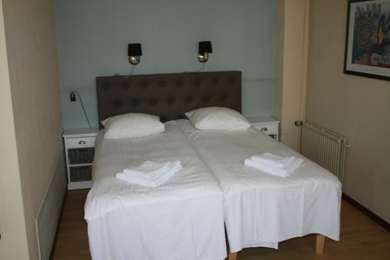 Hotel Saint Vincent : Kamer