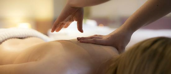 Barham, UK: Back Massage
