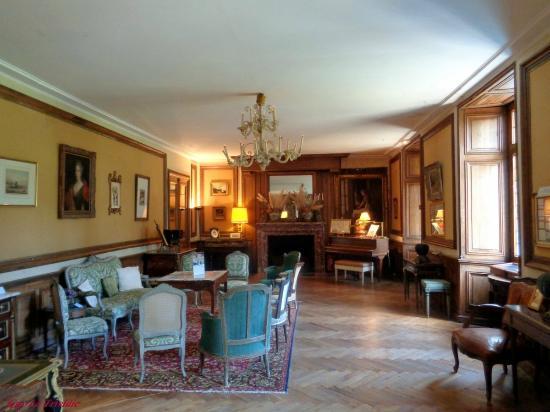 Le salon dit grand salon louis xiv photo de chateau de for Le salon chatou