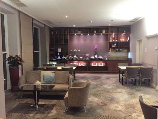 Hilton Sofia: Executive Lounge