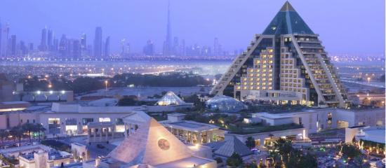 فندق  رافلز: Raffles Dubai Exterior