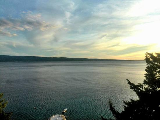 Dugi Rat, Kroatien: The view from our room
