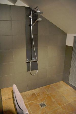 Bruailles, France : Shower in room 4