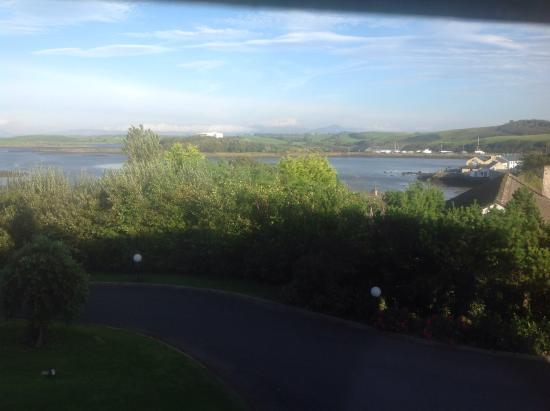 Ardmore Country House Hotel: View from our room.