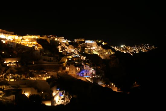 Hotel Night View Picture Of Art Maisons Luxury Santorini