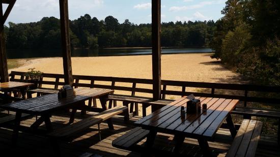 Proffitt's Porch: Lake view