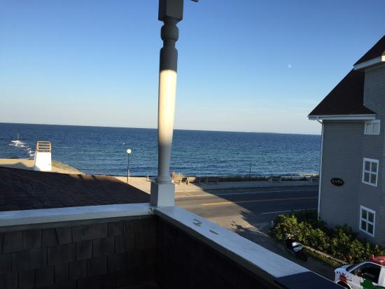 Isabelle's Beach House: View from South Beach balcony.