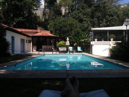 Villa Laurinda: Vista da piscina