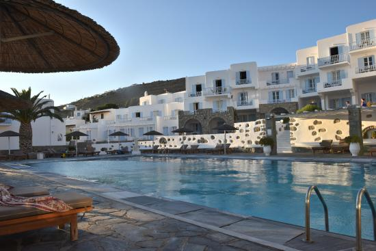 Manoulas Mykonos Beach Resort Pool Ara