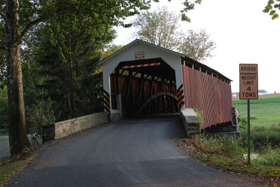 Lititz, Pensylwania: Historic Erbs Bridge