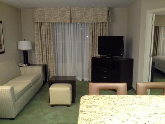 Homewood Suites by Hilton Harrisburg-West Hershey Area: Living Room Area