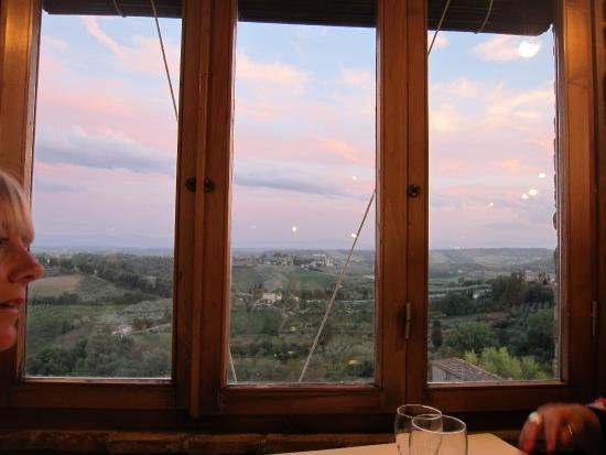 Le Terrazze: amazing view