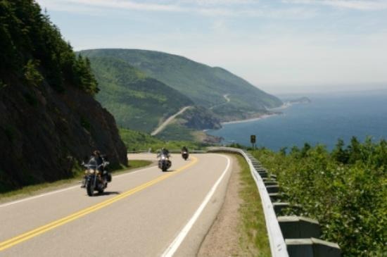 Port Hawkesbury, Kanada: The world famous Cabot Trail