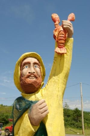 Port Hawkesbury, Canada: Fisherman folkart