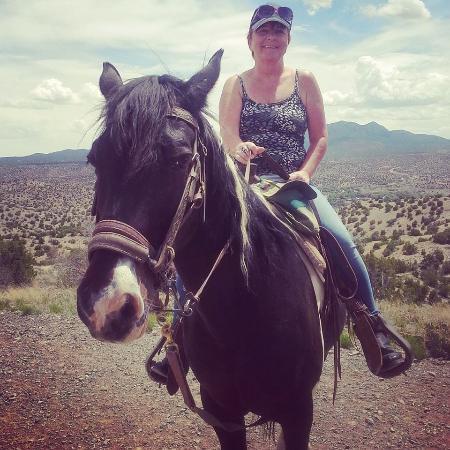 Cerrillos, NM: On the Broken Saddle Trail