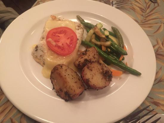Fiddlers' Green: dinner selections