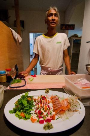 Curry Salad Restaurant: Chef A