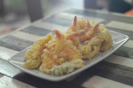 Curry Salad Restaurant: tempura