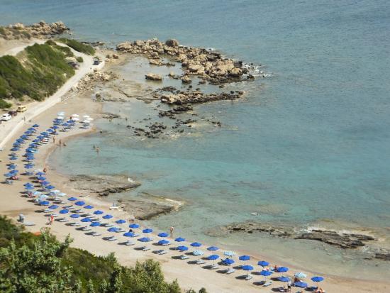 FKK Strand Photo from Faliraki Nudist Beach in Rhodes