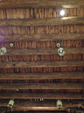 Villas de Santa Fe: The ceiling of the original building of St Francis of the Assisi