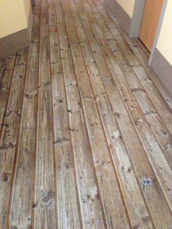 Wooden Plank Carpet Design