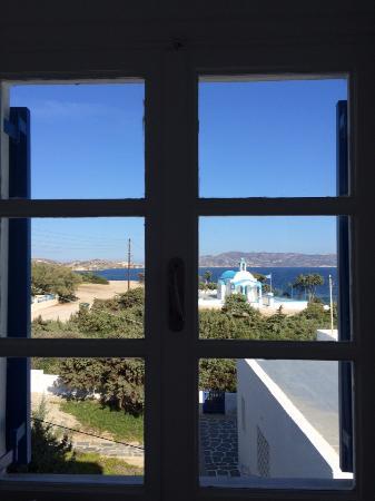Heliotropio Hotel: vista dalla finestra