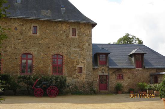La Flocelliere, Francia: The Pavillion front door