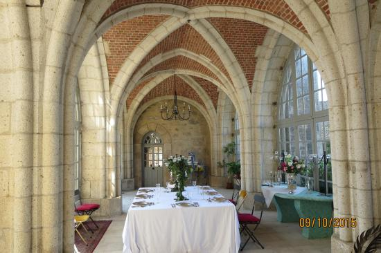 La Flocelliere, Francia: Orangery common room