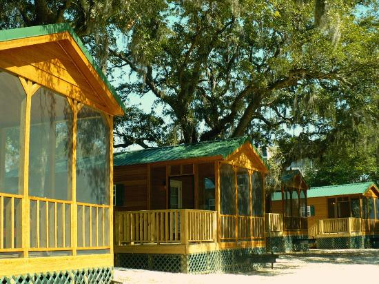 River's End Campground ~ Rental Camping Cabins - Picture of Rivers
