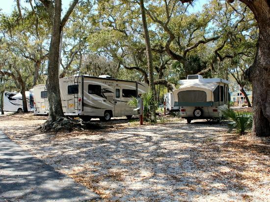 Rivers End Campground and RV Park: River's End Campground ~ Full Hook-Up RV Sites