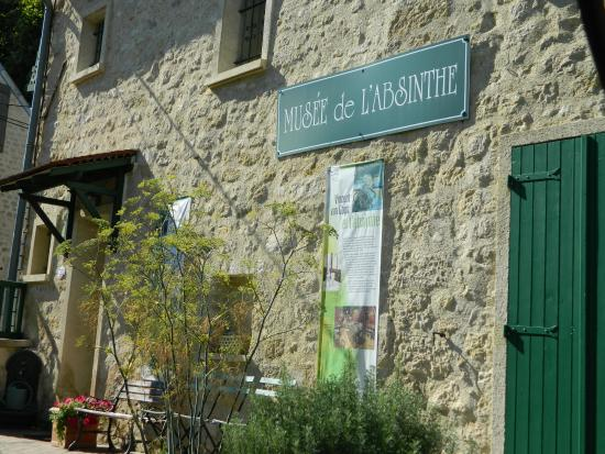 Musée de l'absinthe : Fachada
