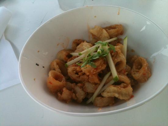 East Hampton Point: Calamari Salad