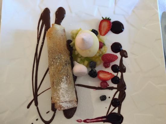Velluire, Fransa: dessert