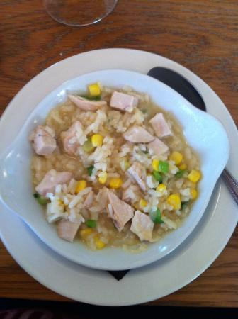 Smiths Restaurant: Chicken risotto starter