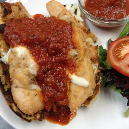 Awesome Newark: Chicken Parmesaen Sandwich