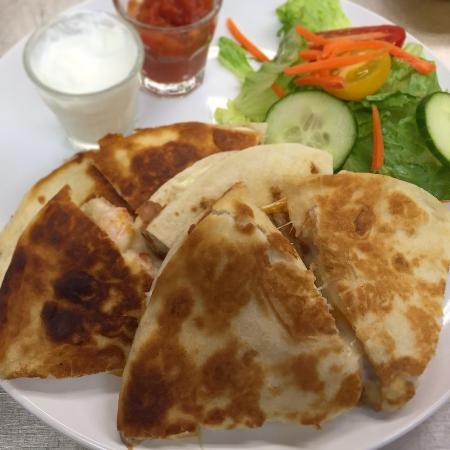 Awesome Newark: Chicken Quesadilla