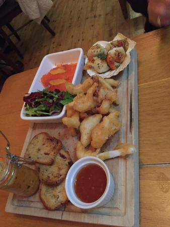 Strete, UK: Fish Tapas