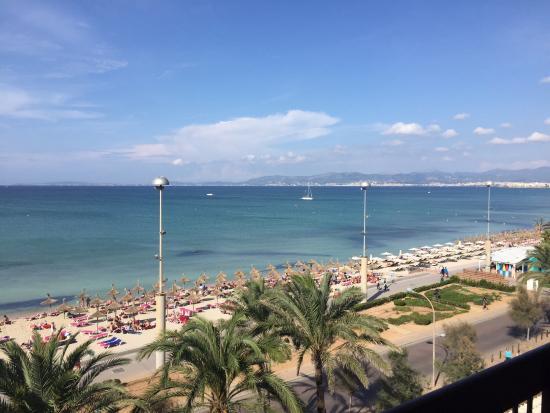 Aya Hotel: Blick vom Balkon