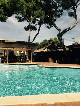AYA Hotel: Bar in poolbereich