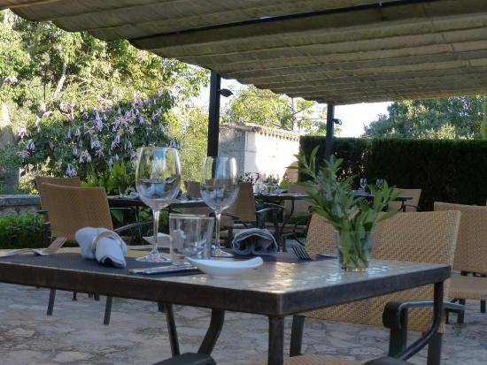 Son Cardaix: Restaurant-Terrasse