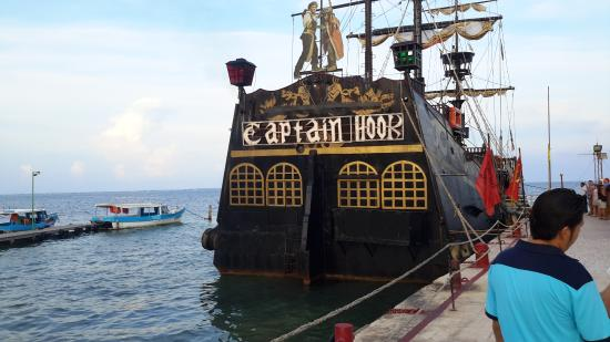Captain Hook night -- cheesy good fun