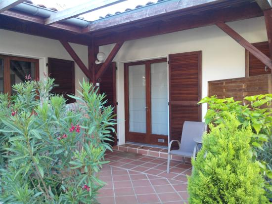 Villa Oz : terrasse privative