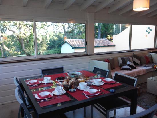 Villa Oz : Petit déjeuner
