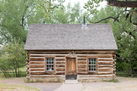 Theodore Roosevelt Cabin Picture of Theodore Roosevelt National