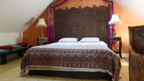 Chambre Indienne En Pays De Loire Picture Of Le Logis