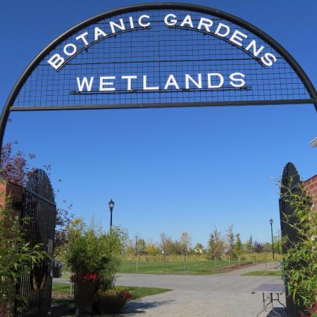 Olds College Botanic Gardens: The Botanic Gardens and Treatment Wetlands